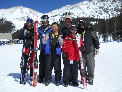A-Basin on April Fools Day!